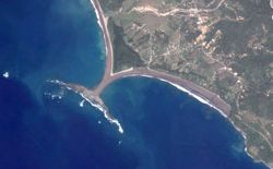 Punta Uvita from Satellite
